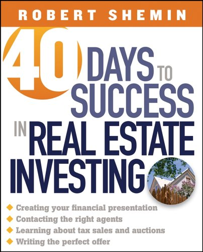 9780471694823: 40 Days to Success in Real Estate Investing