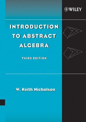 9780471694922: Introduction to Abstract Algebra