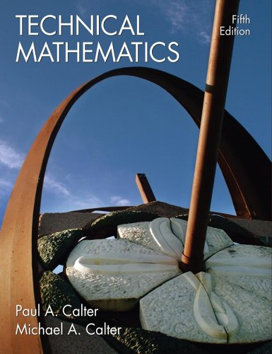 9780471695936: Technical Mathematics