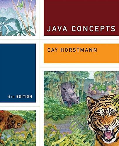 9780471697046: Java Concepts