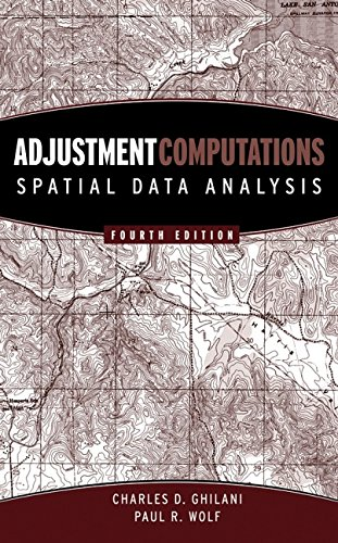 9780471697282: Adjustment Computations: Spatial Data Analysis