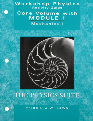 9780471698548: Workshop Physics 2nd Edition Module 1 with Workshop Physics 2nd Edition Module 2 Set
