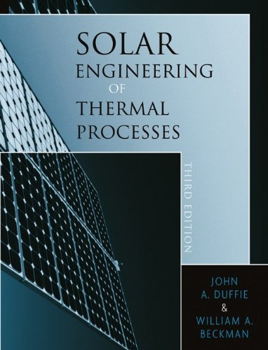 9780471698678: Solar Engineering of Thermal Processes