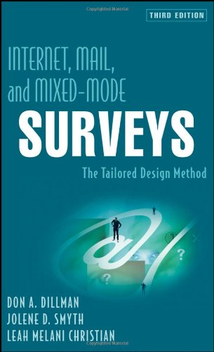 9780471698685: Internet, Mail, and Mixed-Mode Surveys: The Tailored Design Method