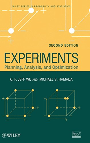 9780471699460: Experiments: Planning, Analysis, and Optimization