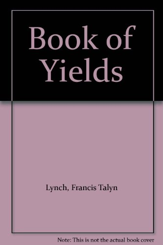 9780471699682: Book of Yields