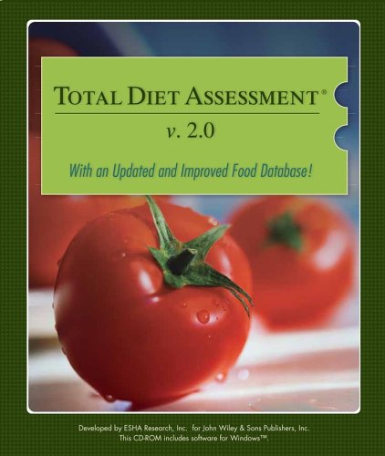 9780471699927: Total Dietary Assessment Software (web access)