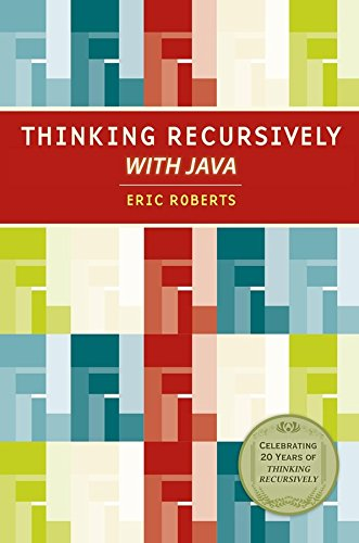9780471701460: Thinking Recursively with Java