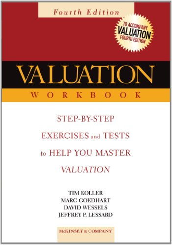 9780471702160: Valuation Workbook: Step-by-Step Exercises and Tests to Help You Master Valuation (Wiley Finance)