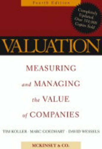 9780471702184: Valuation: Measuring and Managing the Value of Companies (Wiley Finance)