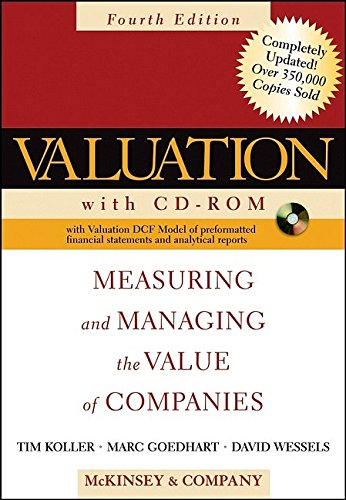 9780471702191: Valuation: Measuring and Managing the Value of Companies (Wiley Finance)