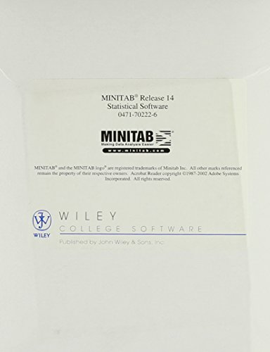 9780471702221: Minitab Release 14 Statistical Software