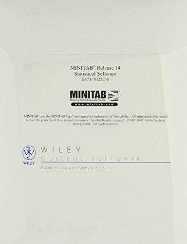 9780471702221: Meet Minitab Release 14 for Windows: Minitab Statistical Software (CD-ROM)