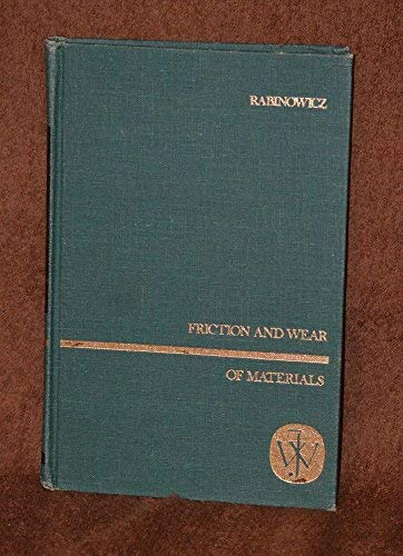 9780471703402: Friction and Wear of Materials (Science & Technology of Materials)