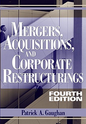 9780471705642: Mergers, Acquisitions, And Corporate Restructuring