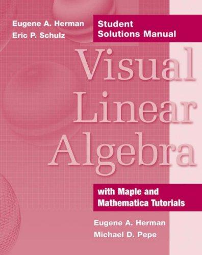 9780471706274: Visual Linear Algebra, Student Solutions Manual