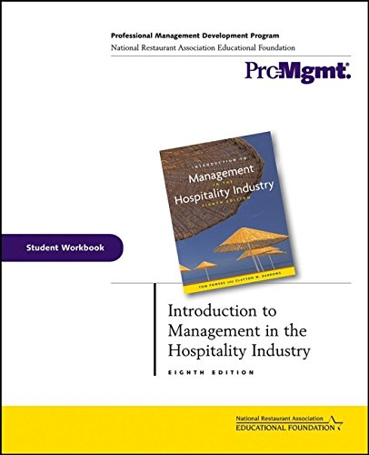 9780471706380: Introduction to Management in the Hospitality Industry Student Workbook