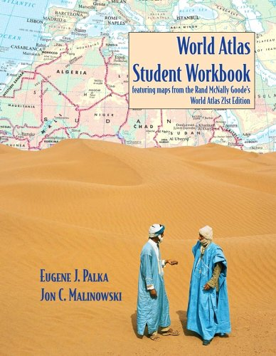 9780471706915: World Atlas Student Workbook Featuring Maps from the Rand McNally Goode's World Atlas