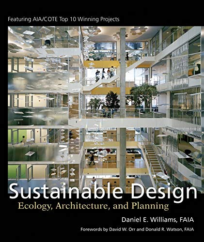 9780471709534: Sustainable Design: Ecology, Architecture, and Planning