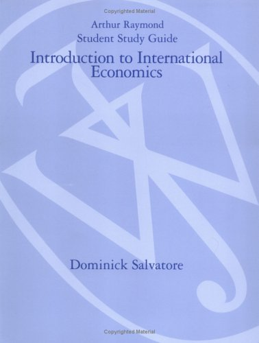 9780471709725: Introduction to International Economics, Study Guide