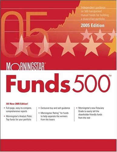 9780471710318: Morningstar Funds 500