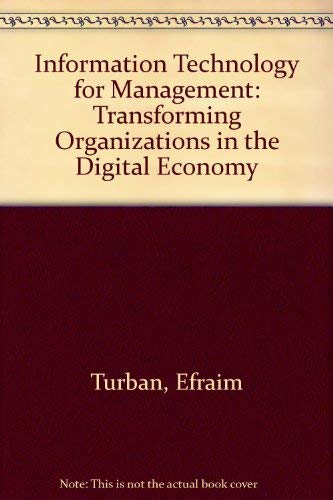 9780471710448: Information Technology for Management