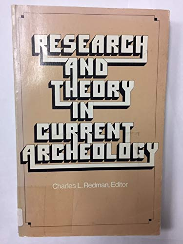 9780471712916: Research and Theory in Current Archaeology