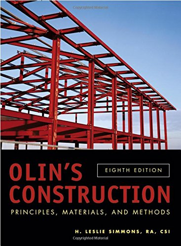 9780471714057: Olin's Construction: Principles, Materials, and Methods