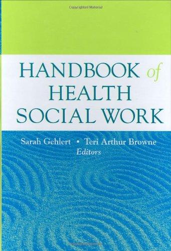 9780471714316: Handbook of Health Social Work