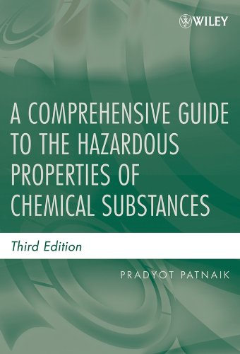 9780471714583: A Comprehensive Guide to the Hazardous Properties of Chemical Substances