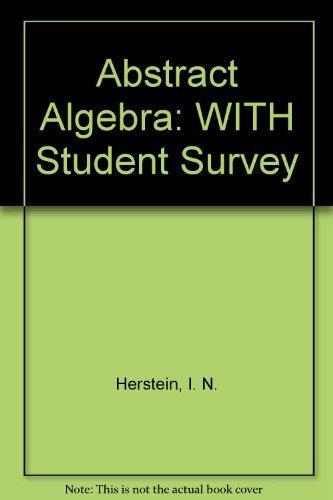 9780471714743: Abrast Algebra 3rd Edition with Student Survey Set