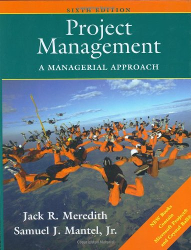 9780471715375: Project Management 6e: A Managerial Approach