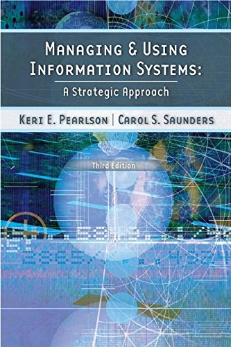 9780471715382: Managing and Using Information Systems: A Strategic Approach