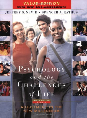 9780471717881: Psychology and the Challenges of Life: Adjustment in the New Millennium