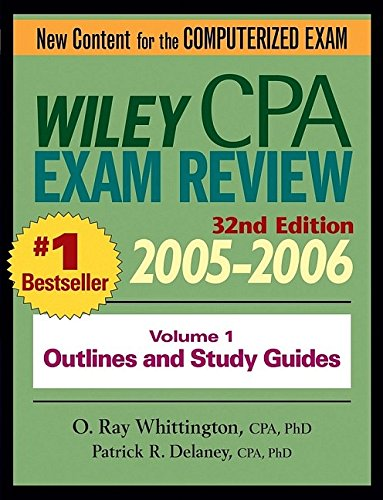 9780471719403: Wiley CPA Examination Review 2005-2006, Outlines and Study Guides (Wiley Cpa Examination Review Vol 1: Outlines and Study Guides) (Volume 1)