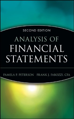 9780471719649: Analysis of Financial Statements