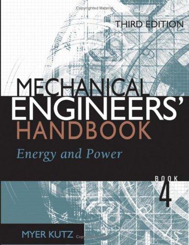 9780471719885: Mechanical Engineers' Handbook, Volume 4: Energy and Power
