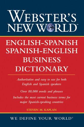 9780471719946: Webster's New World English-Spanish/Spanish-English Business Dictionary