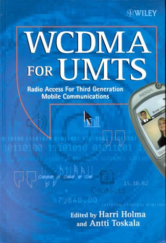 9780471720515: WCDMA for UMTS: Radio Access for Third Generation Mobile Communications