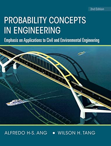 9780471720645: Probability Concepts in Engineering: Emphasis on Applications to Civil and Environmental Engineering: v. 1