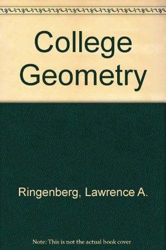 9780471722588: College Geometry