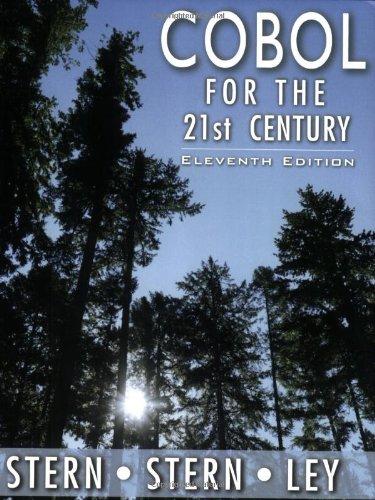 9780471722618: COBOL for the 21st Century