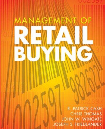 Management of Retail Buying: Cash, R. Patrick;