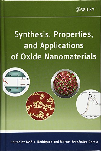 9780471724056: Synthesis, Properties, and Applications of Oxide Nanomaterials