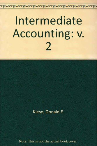 9780471724094: Volume 2 Intermediate Accounting, 11th edition Update Package