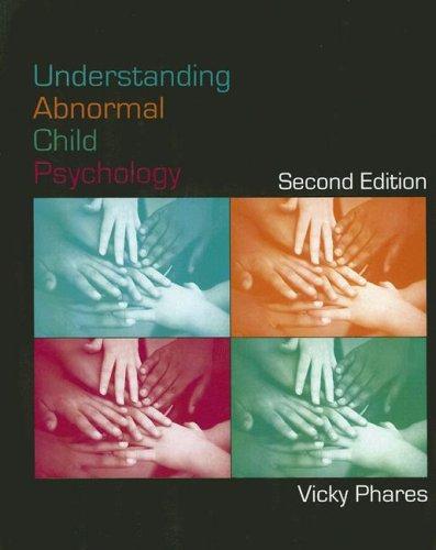 9780471724117: Understanding Abnormal Child Psychology