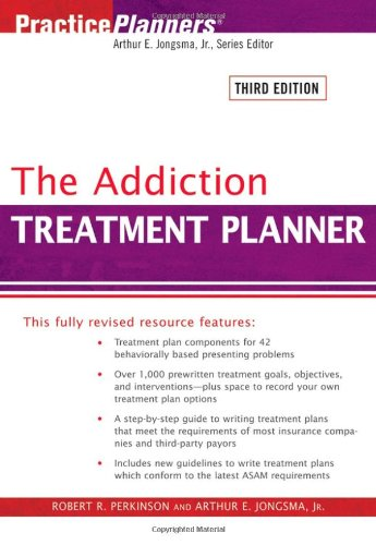9780471725442: The Addiction Treatment Planner (PracticePlanners)