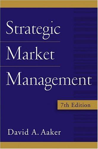 9780471725541: Strategic Market Management