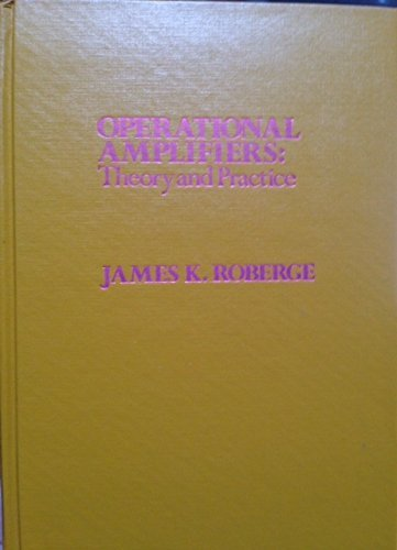 9780471725855: Operational Amplifiers: Theory and Practice
