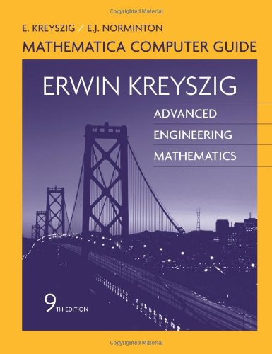9780471726463: Advanced Engineering Mathematics, Mathematica Computer Guide